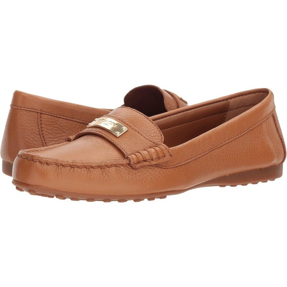 8a6e9ff112b Coach Shoes - Coach Fredrica Pebbled Leather Loafer Moccasin